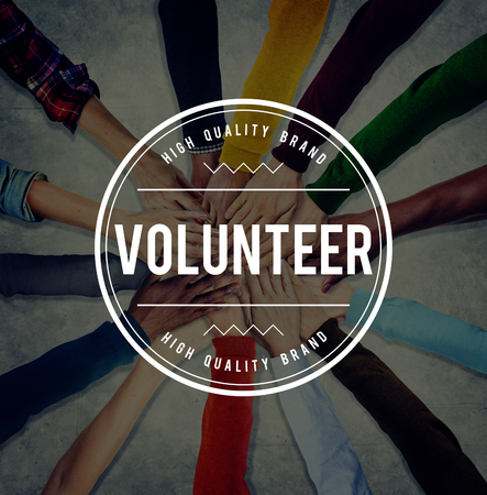 joining services: Volunteer Help Charity Assist Aid Giving Relief Concept