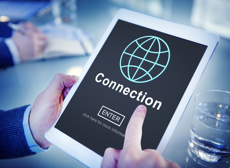 associated: Connection Associated Social Networking Togetherness Concept