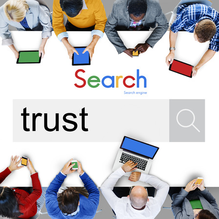 honest: Trust Reliability Faith Belief Honest Trustworthy Concept Stock Photo