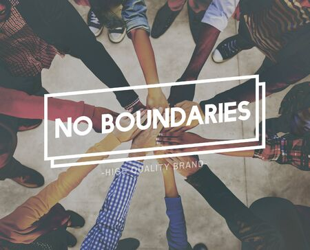 no boundaries: No Boundaries Explore Immigration Freedom Concept Stock Photo