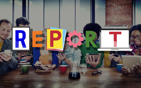 an article: Report Research Information Minutes Article News Concept