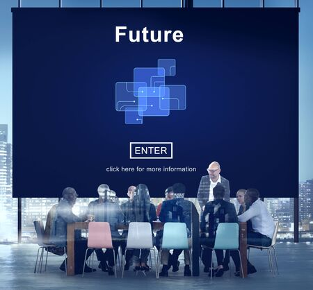 people development: Future Technology Internet Online Concept Stock Photo