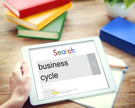 perdidas y ganancias: La recesi�n del ciclo de crecimiento de negocio Concepto de �xito P�rdida Ganancia