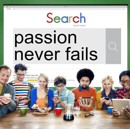 optimismo: La pasión nunca falla El optimismo Energía Sintiéndose el concepto de deseo Foto de archivo