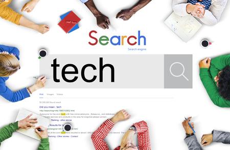 Technology Innovation Evolution Tech Innovative Concept Stock Photo