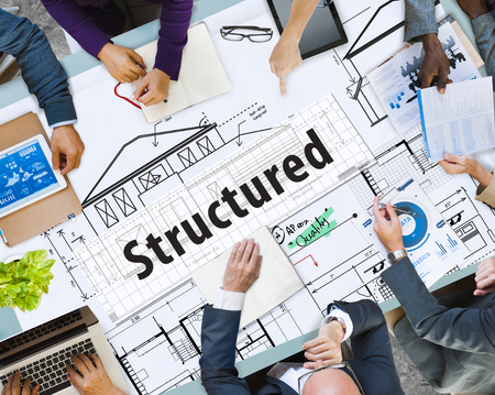 Business planning with structured concept