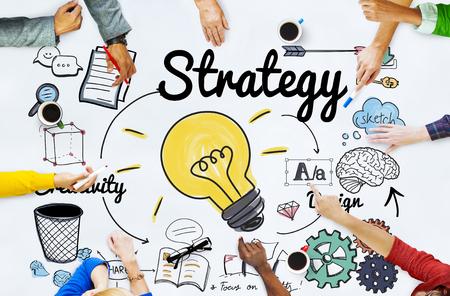 Strategie Ideeën Missie Creativiteit Ontwerp Visie Concept