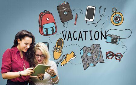 wanderlust: Vacation Wanderlust Travel Trip Concept