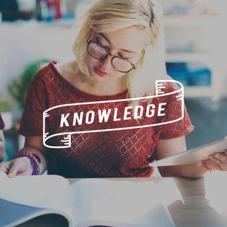 perceptive: Knowledge Intelligence Study Education Concept Stock Photo