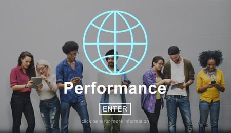 perform: Performance Inspiration Management Perform Skill Concept Stock Photo
