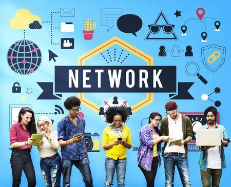 diversity domain: Network Connection System Social Computer Domain Concept