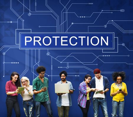 security safety: Protection Surveillance Safety Privacy Policy Concept