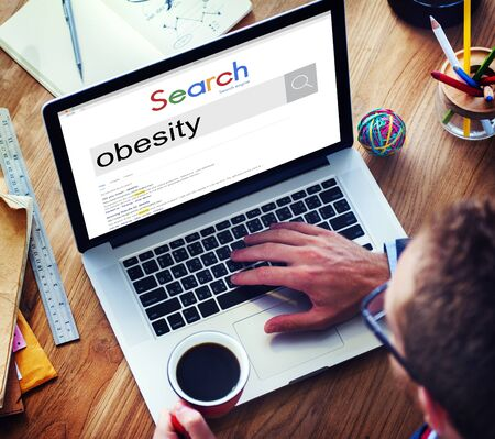 overweight students: Obesity Diabetes Disorder Unhealthy Weight Loss Concept
