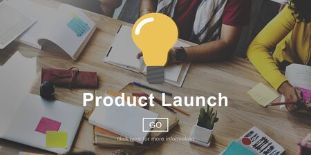 book reviews: Product Launch New business Innovation Concept