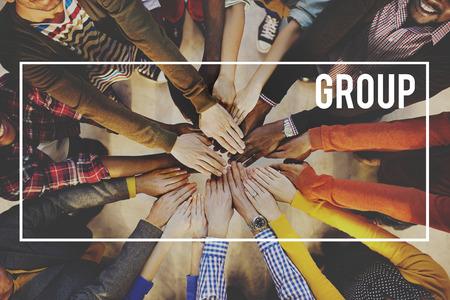 juventud: Multitud Grupo Empresa Concepto Comunidad Foto de archivo