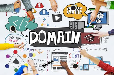 Contenuto del contenuto di indirizzo di layout di dominio