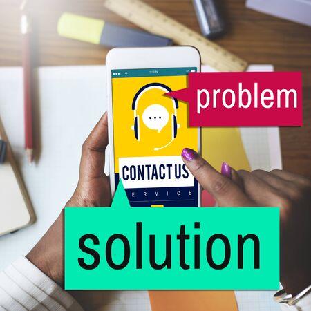 problem solving: Solution Problem Solving Decision Progress Concept