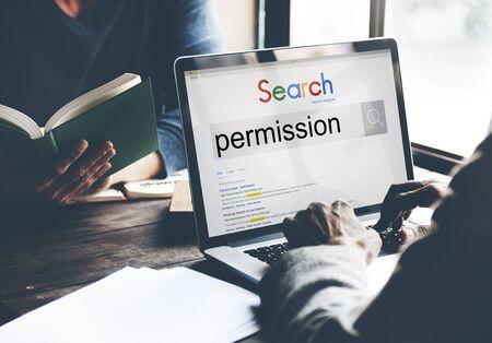 dispensation: Permission License Authority Approval Consent Concept