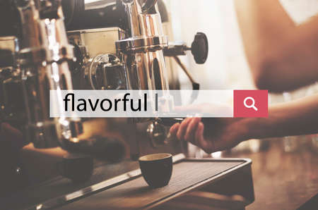 flavorful: Flavorful Food and Beverages Delicious Concept