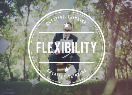 adaptive: Flexibility Adaptability Adaptive Balance Change Concept Stock Photo