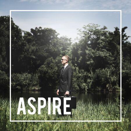 expectation: Aspire Aspirations Desire Expectation Concept