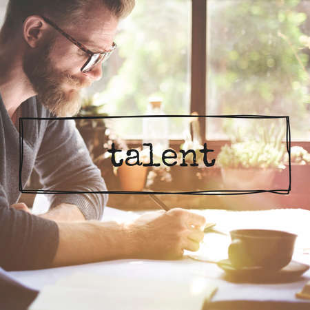 abilities: Talent Natural Skill Professional Superior Abilities Concept Stock Photo