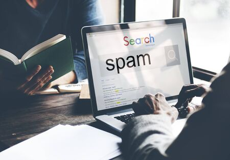 Spam Virus Online Security Phishing Threat Concept