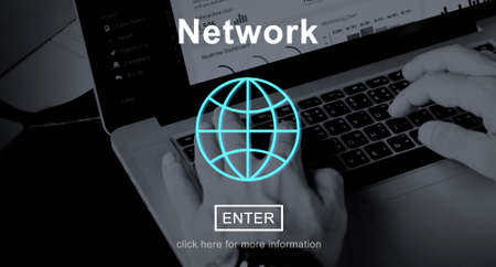 e systems: Network Networking Online Internet Homepage Concept
