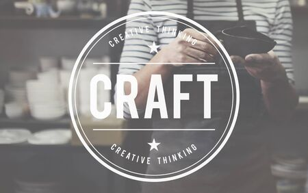 skilled: Craft Art Professiona Skilled Talent Concept