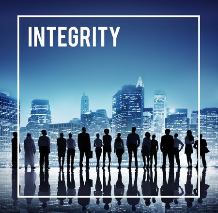 Global Business Team Integrity Cityscape Concept Stock Photo