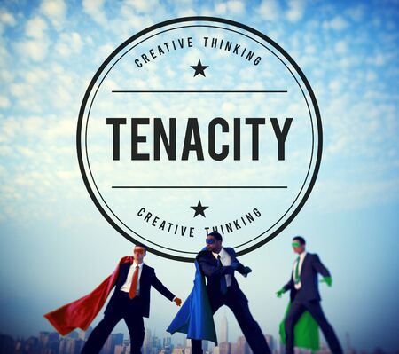 Tenacity Doggedness Persistence Steadfastness Purpose Concept Stock Photo