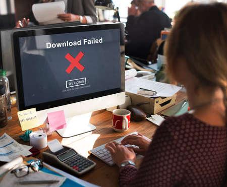 crisscross: Crisscross Icon Download Failed Concept