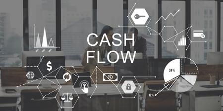 revenue: Cash Flow Finance Economy Revenue Funds Investment Concept