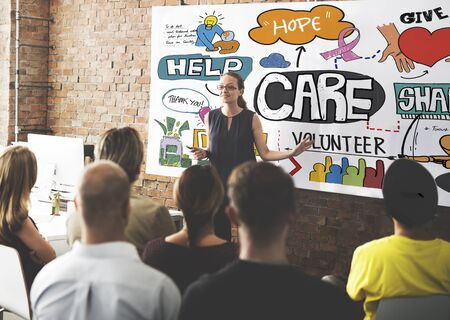 secured: Care Donate Charity Protection Secured Concept Stock Photo