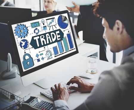 swap: Trade Transection Business Economy Swap Concept