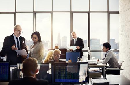 investment concept: Business Team Investment Entrepreneur Trading Concept