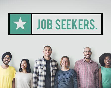 headhunting: Job Seekers Jobs Headhunting Hiring Concept