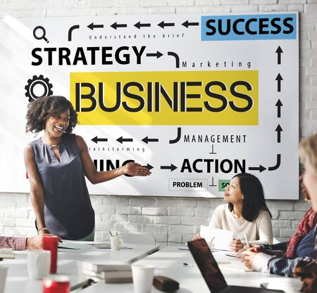 action plan: Business Planning Strategy Success Action Concept