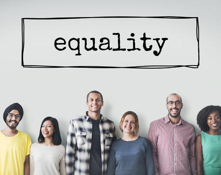 groups of people: Concepto Justicia Derechos igualdad imparcialidad Igualdad