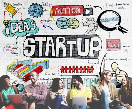 Start Up Idées de lancement Mission Opportunity Concept