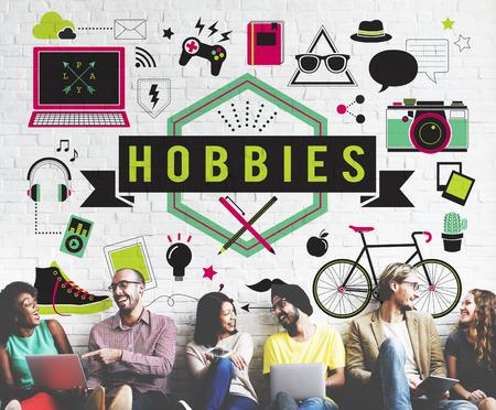 Hobby's Activiteit Amusement Freetime Interest Concept