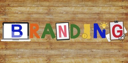 Branding Marketing Campaign Promote Concept