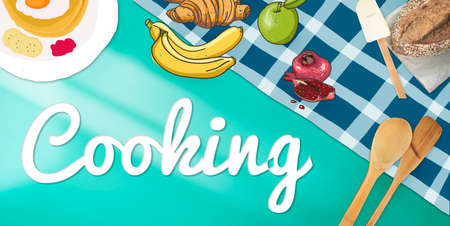 culinary: Cooking Culinary Gourmet Baking Healthy Hobby Concept
