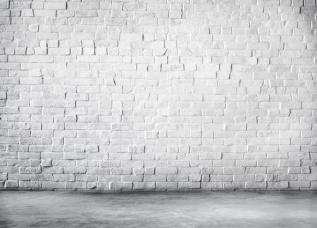 ミニマリズムのコンクリート壁のレンガのコンセプト