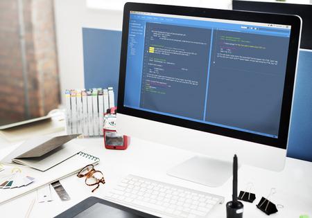 Programowanie Oprogramowanie Web Development Concept