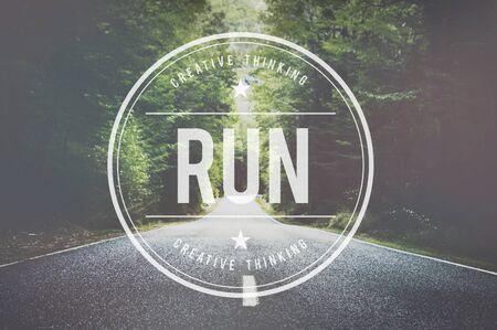no rush: Run Rush Hurry Exercise Active Busy Jogging Concept