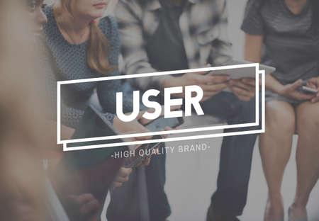 User Registration Member Password Customer Concept