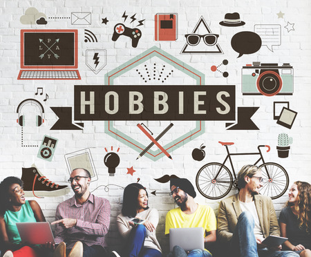 pastimes: Hobbies Activity Amusement Freetime Interest Concept Stock Photo