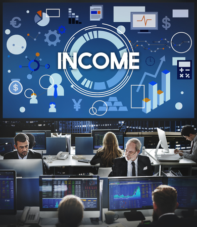 hectic: income Assets Banking Capital Finance Money Concept