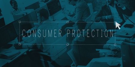 consumer protection: Consumer Protection Customer Rights Protection Concept